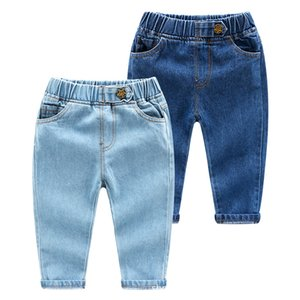 2019 Fashion Kids Jeans for Boys Girls 2 Colors Style Fashion Denim Pants Cotton Trousers For Children's Jeans