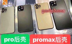 OEM nueva vivienda puerta para iPhone 11 11 Pro reemplazo Max trasera cubierta de la cubierta de la carcasa Puerta de atrás substituye las piezas de teléfonos móviles