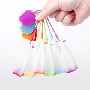 Hot Selling Bag Style Silicone Tea Strainer Herbal Spice Infuser Filter Diffuser Kitchen Accessories Random Color