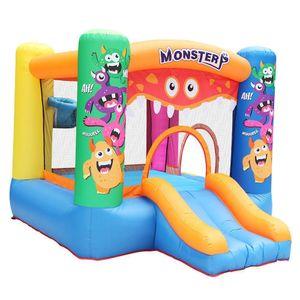 Il nuovo disegno commerciale gonfiabile mostro Bouncer con diapositive Toddler rimbalzo mostro gonfiabile rimbalzo Bouncers Trampolino Dry diapositive