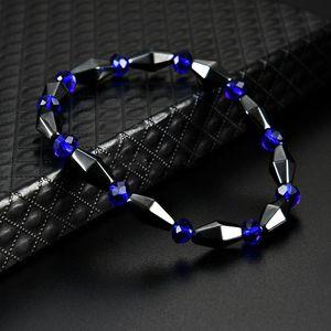 Cone Shape Magnetic Hematite Bracelet Stone Beads String Bracelet Bangle cuff bracelet Power Healthy fashion Jewelry