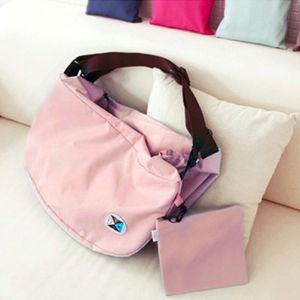Waterproof Foldable Portable Shoulder Bag Fashion Outdoor Travel Backpack Solid Zipper Nylon Durable Bag For Woman Handbag VT0495