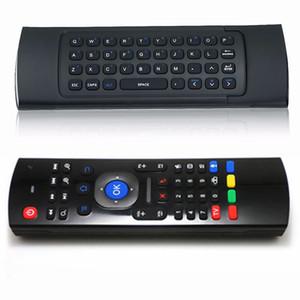 이러한 무선 미니 키보드 에어 마우스 원격 제어 2.4G 감지 센서 MIC 콤보 MX3를 들어 MXQ M8S S905 안드로이드 TV BOX