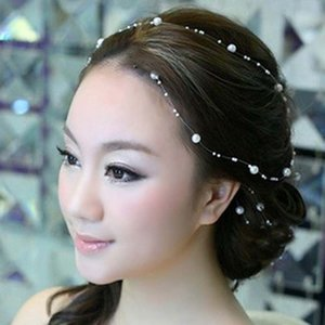 eauty & Health Wedding Decoration Hair Vine Bridal Accessories Headband Party Headpiece Tiara Headdress For Bride Hairband Hairpins Ornam...