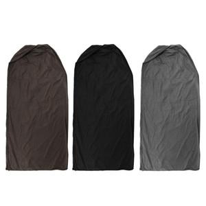 Cylidrical تغطية فناء سخان غاز البولي ايثيلين زيبر حامي 90x190cm ماء - براون