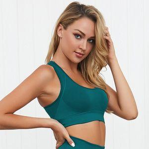 2020 nouvelles dames salle de yoga soutien-gorge nu sport fitness gilet de fitness sexy soutien-gorge dos nu top dames sexy sous-vêtements en cours d'exécution