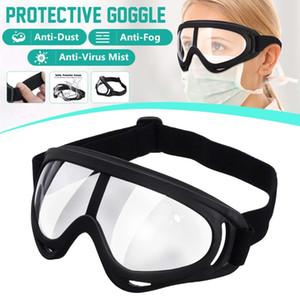 PC Güvenlik Gözlükler Tam UV Işık Kimyasal Belgesi diren Şeffaf Lens Gözlük Göz Koruyucu Gözlük Buğulanmaz Antisand Toz Kapalı