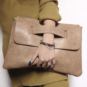 Fashion women envelope Evening Bag Designer luxury clutch leather handbags ladies wristlets hand bags woman shoulder bag Purses