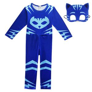Teenmiro bambini Spiderman costume di Halloween Boy Piccolo Flying Man vestiti dei bambini di Cosplay mostrare segni adolescenti Cartoon tuta Abbigliamento