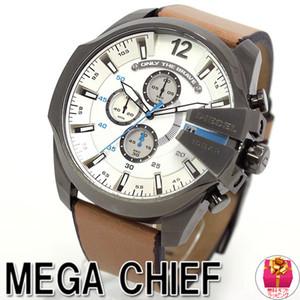 Relógio de pulso de fuso horário multi feiras Montre luxe militar relógio de pulseira de couro 53mm Relógio de aço inoxidável de discagem dz quartzo grande relógio esportivo de quartzo