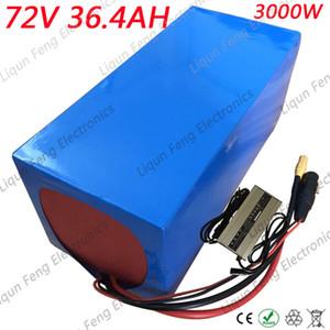 72V Batería de litio 72V 35AH Batería eléctrica 72V 3000W 4000W Batería triciclo bicicleta eléctrica para silla de ruedas con cargador 84V 5A.