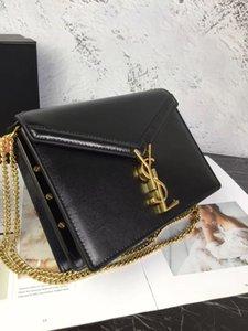 de metal bolsos de diseño de piel de oveja de cuero de vaca Caviar 2020 marca bolsos de lujo diseñador monederos mujeres carpeta del cuero genuino 01438
