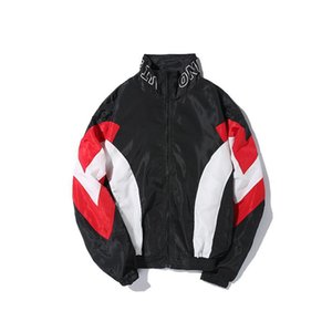 Men's Spring And Autumn Winter Jacket Hip Hop Tide Brand Color European And American Style Street Hip-hop Sports Jacket