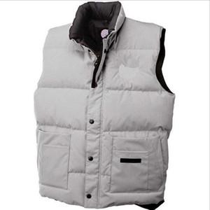 Casacos Coletes jovem popularidade Brasão Canadá Moda bolso Decoração Mens Designer Coats Inverno Personalidade Brasão Com Pele Mens Inverno