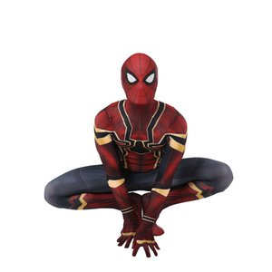Unisexe Lycra Spandex Zentai Nouveau Spiderman Cosplay Costumes Halloween Cosplay Costumes Adulte Enfants 3D Style