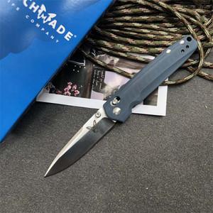 Benchmade BM 485 M390 lâmina Folding caça tático faca de acampamento facas de borboleta facas de caça dom BM3300 940 555 940-1 xmas