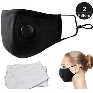 Free DHL PM2.5 Mouth Masks Anti Dust , Smoke, Germs, Gas Face Mask Reusable respirator mask with 2 Filters