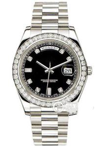 Top Master macht hochwertigen männlichen Uhr - Saphirspiegel 18k Platin Diamant-automatische mechanische Uhr 228.349 Wahl Durchmesser 40mm