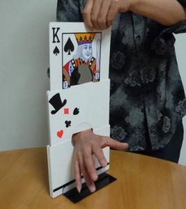 O cartão de jogo Arm Chopper - Truques Stage mágica
