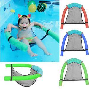 Floating Bed durevoli Materiali soft Noodle Sling reclinabile Lounge Chair acquatico per bambini adulti Piscina Sdraio