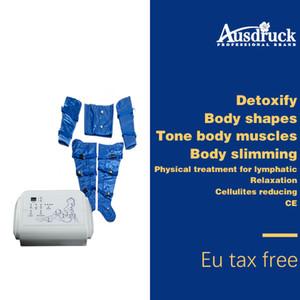 ЕС безналоговой прессотерапии лимфодренажный жир удалить Slim Machine Давление Воздуха Детокс Тела Для Похудения Обертывание Детокс Потеря веса устройства красоты