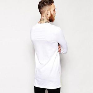 Detalle de otoño CANIS O-Cuello de la manga larga con capucha sudaderas con capucha Para Hem hombres Hip Hop palangre Diseño