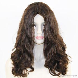 24 USA Pre pizzico vergine peruviana dei capelli umani 360 Frontal del merletto parrucche onda parrucca piena di simulazione dei capelli umani per le donne knhj21