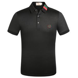 Été Polo Hommes Coton Polos Couleur unie à manches courtes Chemises streetwear Slim respirante hommes Homme T-shirts taille US vêtements XXXL