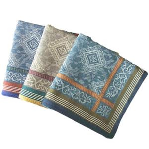 100% Algodão Men Handkerchief 43 centímetros Stripe Floral Impresso comercial masculino lenço macio absorção de suor Praça Peito Toalha Lenço DBC BH3465