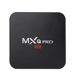 Android 7.1 TV Box MXQ pro 4K Quad Core KD17.3 8G 1G Amlogic S905X S905W Smart TV Box suport WIFI 3D