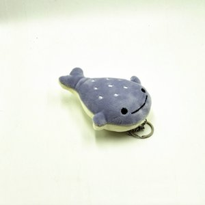 12cm Little Fish Cute Shark Key Chain Toys Kawaii Ocean Animal Stuffed Shark Doll Toys