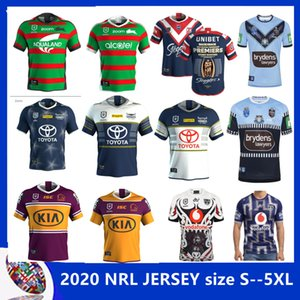2020 Australis Sydney Hähne Rugby Jersey 2020 South Sydney Rabbitohs NSW BLUES Krieger North Queensland Cowboys HOME JERSEY Größe S-5XL