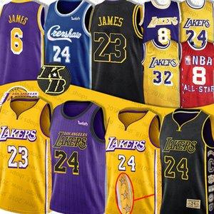 LeBron James Jersey 6 23 BRYANTAnthony Davis Jersey 3 universitaria de baloncesto Earvin 24 32 Kyle Johnson 0 Kuzma Jersey