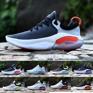 Sıcak Ucuz Joyride Run ODYSSEY RECT SHIELD Erkekler Üçlü Siyah Beyaz Platin Ton Üniversitesi Kırmızı Açık Nefes Atletik Ayakkabı Koşu