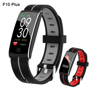 F10 Plus Smart bracelet Heart Rate Blood Pressure Monitor setp pdeometer sleep call remind For xiaomi Fitbits samsung iphone Wristband band