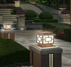 Im Freien Solargartenzaun Pillar-Lampe wasserdichte Villa Parkplatz Hoftor Spalt Licht Pool Straße Post Cap Lamp