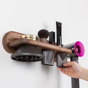 Freeshipping Soporte para secador de pelo Soporte para secador de pelo Estante para baño Bastidores de baño Soporte de pared para secador de pelo Estante de almacenamiento