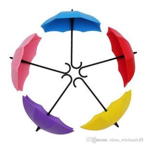 Новая Зонт форма 3 с крюком Липкий крючки Кухня / Ванная комната / спальня / гостиная Супер Взвесьте крюк вверх Крючки Rails