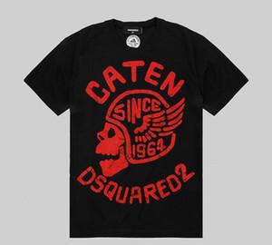 homens Designer 2020 Verão New Arrival Top Quality Luxo Tees Mens Clothing D2 t Camisetas shirtPrint ModaDsquared2 camisa dos homens t 02c45 #