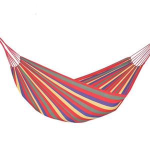 300 kg de suspensão Hammock Canvas portátil Viajando Picnic Outdoor Hanging Bed preguiçoso balanço cadeira de jardim Mobiliário Caminhadas Camping