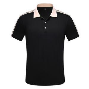 20ss Wholesale-Herbst Maserati Crown Polo Shirts Golf dünne bequeme Designer Formal Polo Shirts mit Baumwollmischung für Männer