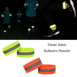 Elastic Safety Reflective Bracelet Ring Sports Fluorescent Cycling Running Safety Reflective Arm Foot Band Strap Night Bracelet