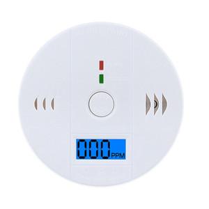 CO monossido di carbonio del tester del sensore di allarme avvertimento sul display del rivelatore di gas antincendio rilevatore di avvelenamento LCD alertor LJJA3297 Security Home Sicurezza