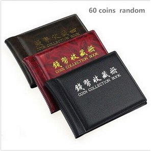 60 120 Pockets Coins Album Collection Book Mini Penny Coin Storage Album Book Collecting Coin Holders for Collector Gifts