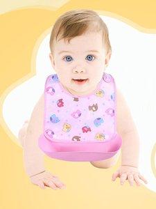 Baby Detachable Kids Boys Girls Waterproof Feeding Apron Saliva Towel Bib Smock1.897