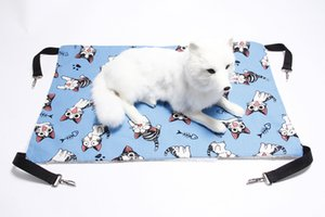 New Pet Hammock Bed Dog Cage Hammock Cat Sleeping Bed Hanging Soft Pet Bed Keep Warm Dog Hammock