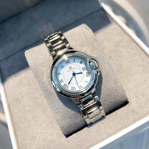 2019 Nuevo diseño clásico leiseure Relojes para hombre de las mujeres de la moda del azul de acero de pulsera de cuarzo relojes de lujo Top relogies balon alta calidad