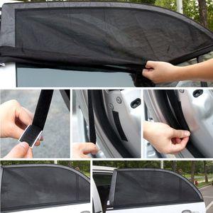 Liplasting 2PC Car Side cortina traseira Janela Sun Sombra malha Tampa Visor Escudo Pára-NOVO