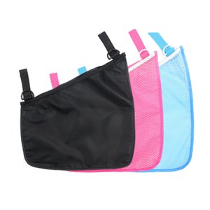 Mesh Polyester Baby Stroller Pram Net Mesh Hanging Bag Organizer Diaper Storage Tidy Net Accessories Home Item Mesh Polyester