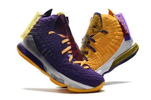 Haute qualité Lebron Nouveaux fantôme Cendres 17 Chaussures de basket-ball d'arrivée Sneakers 17s hommes occasionnels Roi James chaussures de sport LBJ US5.5-12 zzhstore